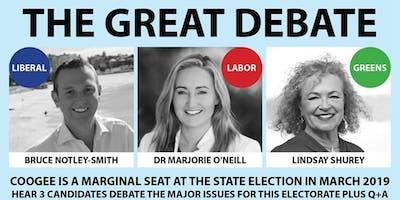 The Great Debate in a Marginal Seat