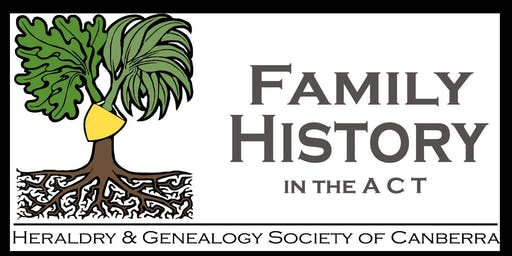 Family history: Record keeping for family historians (Adults 16+)(ACT Heritage Library)