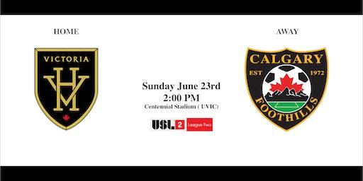 Victoria Highlanders VS. Calgary Foothills - Sunday June 23rd  2:00PM
