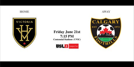 Victoria Highlanders VS. Calgary Foothills - Friday June 21st 7:15PM tickets