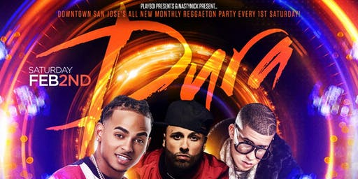 Dura派对hishop&reggaeton每周六1日@enso夜总会