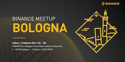 Binance Meet Up Bologna