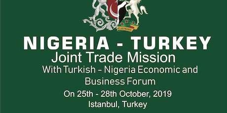 Nigeria-Turkey Joint Trade Mission tickets