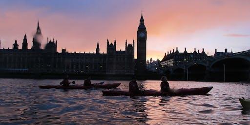2019 Night Bus (Kayak London by Night Battersea to Greenwich)