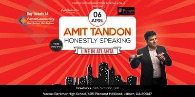 Honestly Speaking – Amit Tandon Stand-Up Comedy: Live in Atlanta
