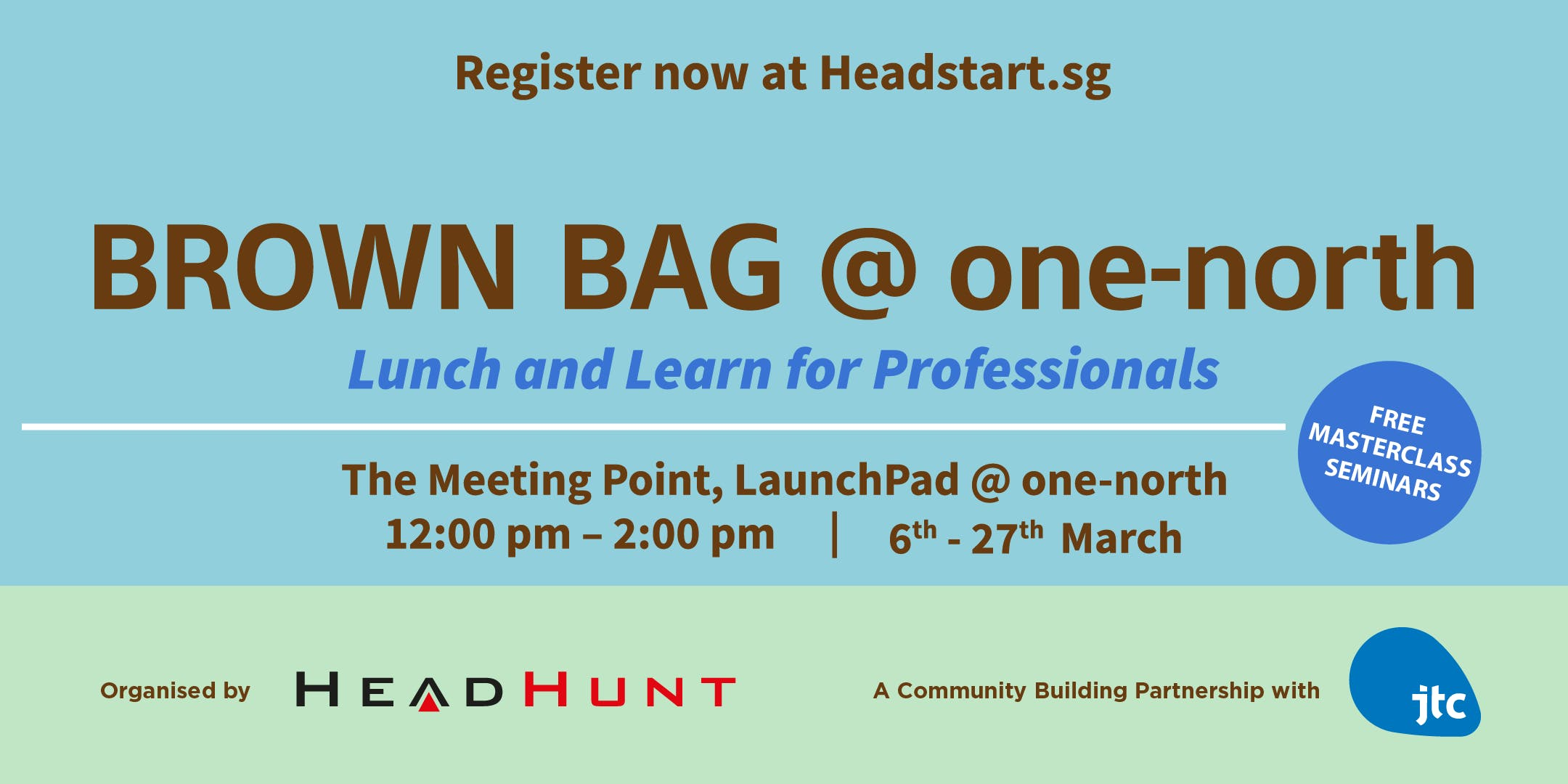 Brown Bag @ one-north:  Intellectual Property