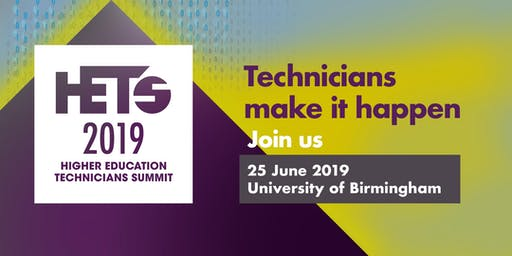 Higher Education Technicians Summit (HETS) 2019