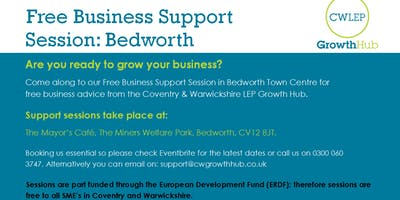 Free Business Support Session: Bedworth