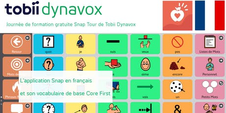 Formation Snap et son vocabulaire de base Core First - Berck tickets