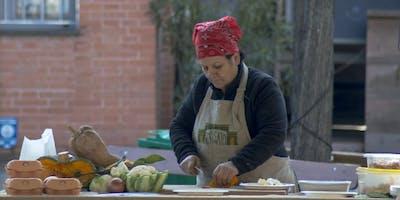 Prepariamo garganelli con verdure al Mercato Ritrovato!