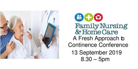 A Fresh Approach to Continence Conference tickets