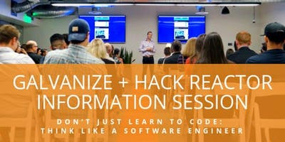 Software Engineering Immersive Info Session - San Francisco