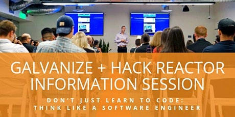 Software Engineering Immersive Info Session - San Francisco tickets