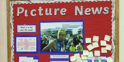 Using the news to inspire young minds!