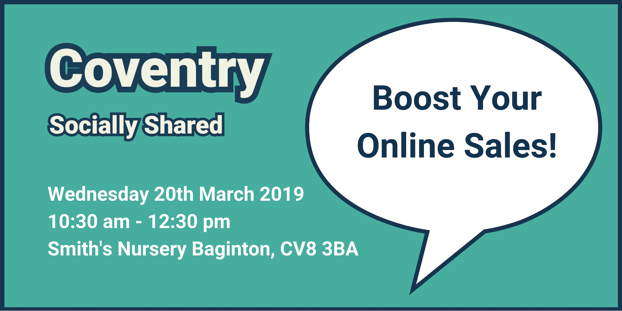 Coventry Socially Shared - 'Boost Your Online