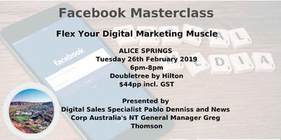 Alice Springs Facebook Masterclass with Pablo Denniss
