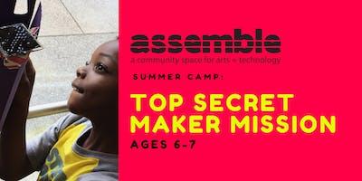Summer Camp: Top Secret Maker Mission (Ages 6-7)