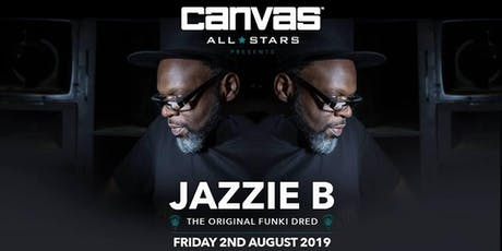 Canvas All Stars: Jazzie B tickets