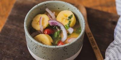 Aula de Culinária - Menu de Verão com Frutos do Mar