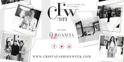 """Cristã Fashion Week """"O Maior evento de moda cristã e executiva do Brasil."""""""