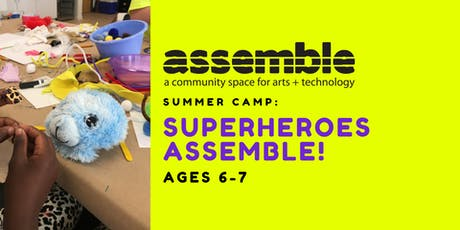 Summer Camp: Superheroes Assemble! (Ages 6-7) tickets