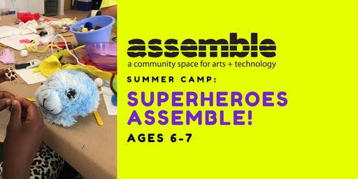 Summer Camp: Superheroes Assemble! (Ages 6-7)