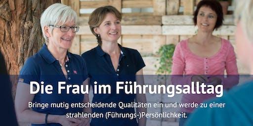 Die Frau im Führungsalltag: Ein Training von Frau zu Frau vom 28. bis 29. Juni 2019