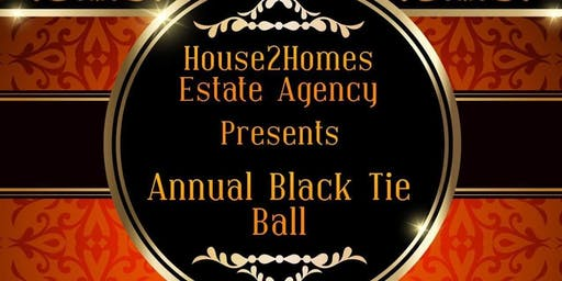 House2Homes Estate Agency Presents Annual Black Tia Ball All in aid of Early Onset of Parkinson's