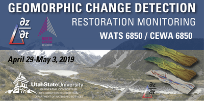 Geomorphic Change Detection Workshop