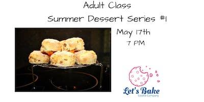 ***** Dessert Class: Brunch-Inspired Desserts