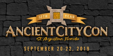 Ancient City Con 2019 tickets