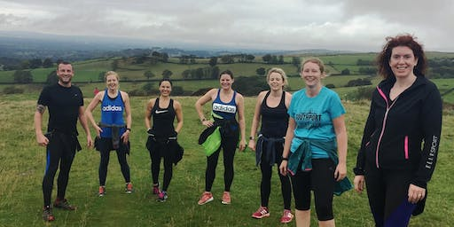 Extreme Outdoor Fitness Session at Tegg's Nose Country Park