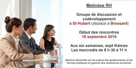 Les RH, ça relève de nous - Brossard (St-Hubert) - 18 septembre 2019 tickets