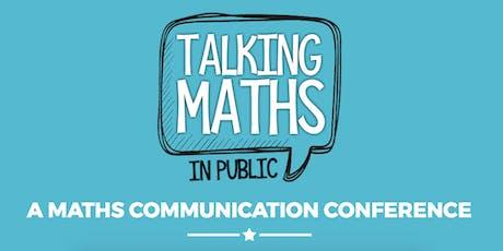 Talking Maths in Public 2019 tickets
