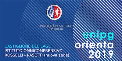 Unipg orienta 2019 - L'Ateneo incontra le future matricole - Castiglione del Lago