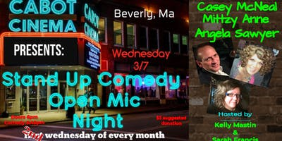 Cabot Theater: Stand Up Comedy Open Mic Night