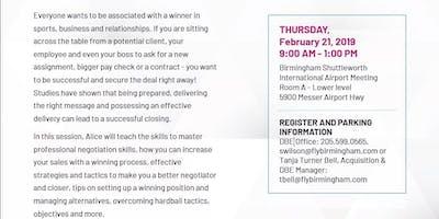 DBE Workshop: Master Strategic Negotiation Skills