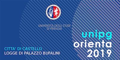 Unipg orienta 2019 - L'Ateneo incontra le future matricole - Città di Castello