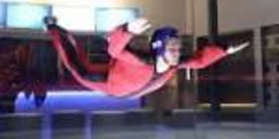 Indoor Skydiving Session with Class: Float Like A