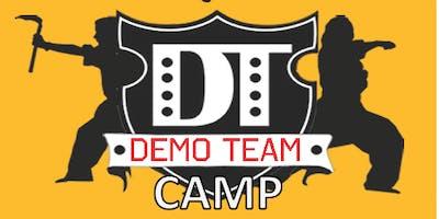 MARTIAL ARTS DEMO TEAM AUGUST SUMMER CAMP