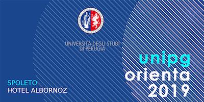 Unipg orienta 2019 - L'Ateneo incontra le future matricole - Spoleto