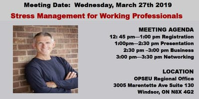WEAVA Presents - Stress Management for Working Professionals
