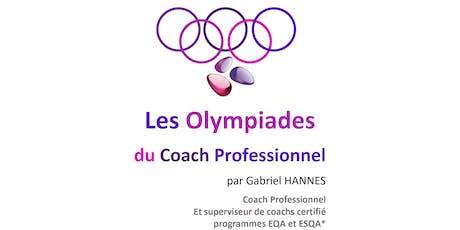 Lyon Olympiades 24 Juin 2019 - Séquence 2 - Utiliser la colonne vertébrale de l'identité de Vincent Lenhardt pour diagnostiquer et intervenir en séance de coaching billets