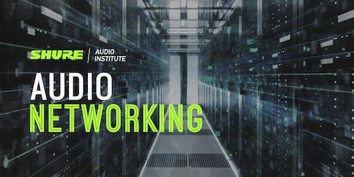 Audio Networking Seminar at Shure UK