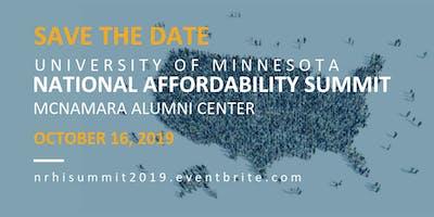 NRHI Annual Affordability Summit 2019