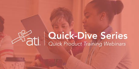 ATI Quick-Dive Series tickets