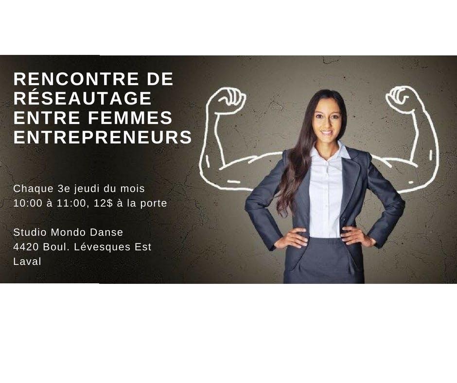 Rencontre de Réseautage entre Femmes Entrepre