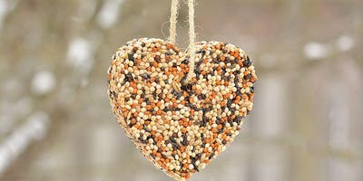 A Partridge in a Pear Tree: Bird Seed Ornament Workshop