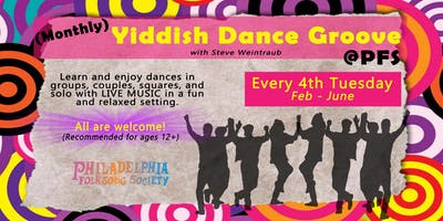 June Yiddish Dance Groove @PFS
