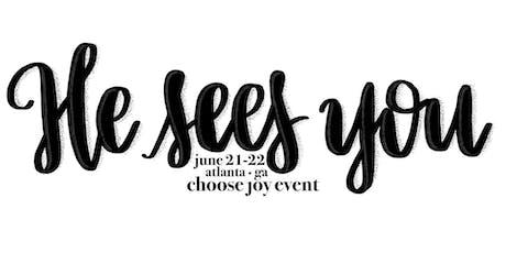 Choose Joy Event 2019 tickets